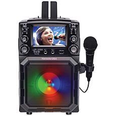 "Karaoke USA GQ450 Portable Karaoke Player w/4.3"" Color TFT Screen"
