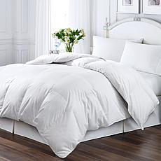 Kathy Ireland White Duck Feather and Down Twin Comforter