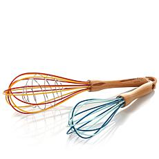 Kelsey Nixon Essentials Set of 2 Silicone Whisks
