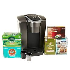 Keurig K-Elite Coffee Maker with 54 K-Cups and My K-Cup