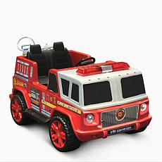 Kid Motorz Fire Engine 12V Two Seater Ride-On Vehicle