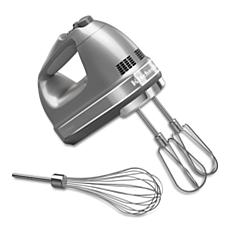 KitchenAid® 7-Speed Hand Mixer - Contour Silver