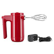 KitchenAid Cordless 7-Speed Hand Mixer - Passion Red