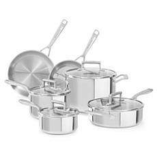 KitchenAid Tri-Ply Stainless Steel 10-piece Set