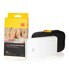 Kodak Mini 2 Portable Wireless Mobile Photo Printer with Paper & Case