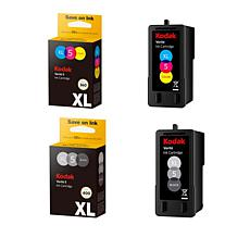 Kodak Verite 5XL Black and 5XXL Color Ink Cartridges