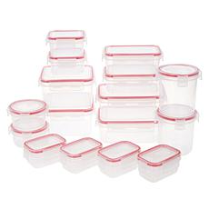 Komax 32-piece Leakproof Multi-Shape Food Storage Set
