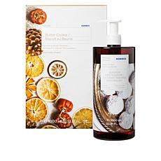 Korres 1-Liter Butter Cookie Renewing Body Cleanser