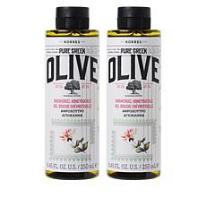 Korres 2-pack Greek Olive Oil & Honeysuckle Shower Gel