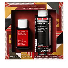 Korres 2-piece Vetiver Mens Fragrance Set