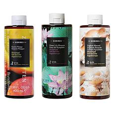 Korres 3-pack Jumbo Hydrating Shower Gels