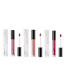 Korres 3-pack Morello Oil Lip Fluid Liquid Lipsticks