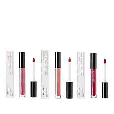 Korres 3-pack Morello Oil Lip Fluid Liquid Lipsticks