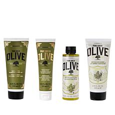 Korres 4-piece Olive & Blossom Crepe Rescue Set Auto-Ship®