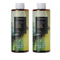 Korres Guava Citrus Shower Gel Duo - 13.53 fl. oz.