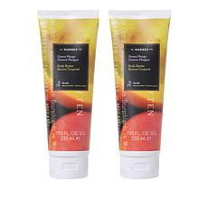Korres Guava Mango Jumbo Smoothing Body Butter Duo - 7.95 fl. oz.