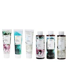 Korres Moisture Surge 6-piece Bath and Body Collection