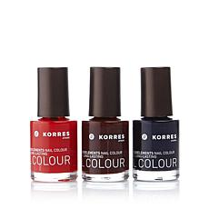 Korres Nail Color Trio - City Style