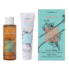 Korres Neroli Iris Body Spray and Body Cream Set