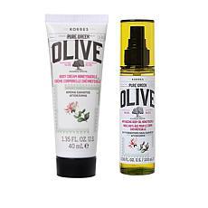Korres Olive & Honeysuckle Body Cream & Body Oil