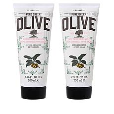 Korres Olive Oil and Golden Apple Body Cream Duo