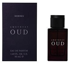 new! Korres Oud Amethyst Eau de Parfum