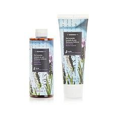 Korres Sea Lavender Body Butter & Shower Gel Duo