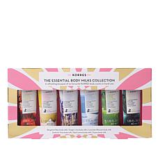 Korres Ultimate Body Milk Mini 6-piece Collection