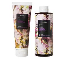 Korres Violet Body Butter and Shower Gel Duo