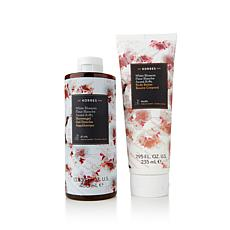 Korres White Blossom Body Butter and Shower Gel Duo
