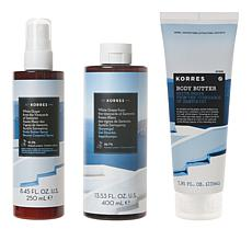 Korres White Grape Santorini Smoothing & Anti-Aging 3pc Collection
