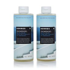 Korres White Grape Shower Gel Duo