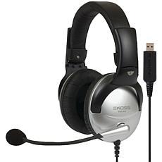 KOSS SB45 USB Full-Size Over-Ear Communication Headset