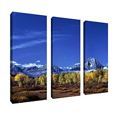 Kurt Shaffer'Autumn Tetons' Multi-Panel Art Collection