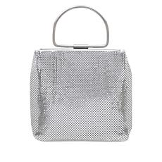 La Regale Metallic Mesh Evening Bag