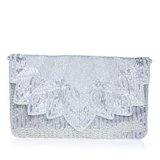 La Regale Scalloped Clutch