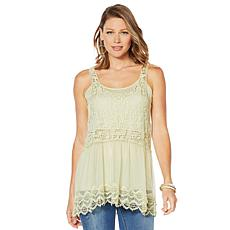 LaBellum by Hillary Scott Lace Layering Tank