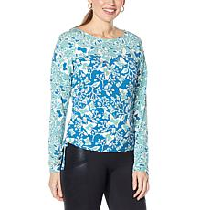 Laila Ali Adjustable Length Long-Sleeve Top