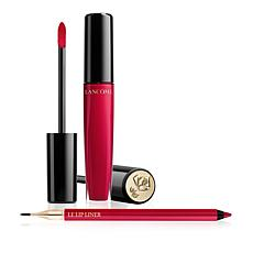 Lancôme L'Absolu Gloss & Le Lip Liner Set - Red