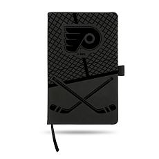 Laser-Engraved Black Notepad with Elastic Band - Flyers