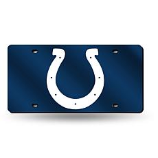 Laser-Engraved Blue License Plate - Indianapolis Colts