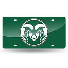Laser Tag License Plate - Colorado State University (Green)