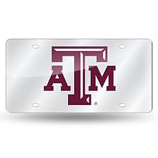 Laser Tag License Plate - Texas A&M University (Silver)