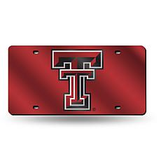 Laser Tag License Plate - Texas Tech University (Red)