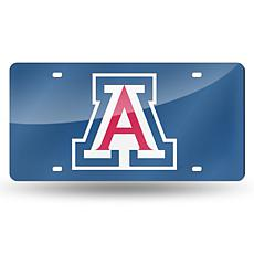 Laser Tag License Plate - University of Arizona (Blue)