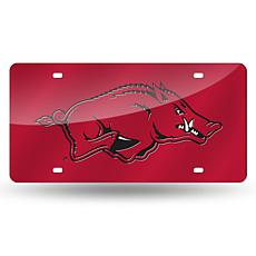 Laser Tag License Plate - University of Arkansas (Red)