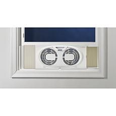 "Lasko Twin Window Fan for 22"" to 32"" Windows"