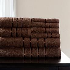 Lavish Home 100% Cotton Plush 8-piece Bath Towel Set