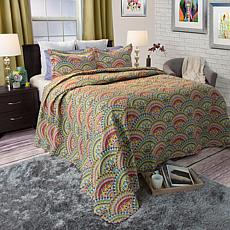 Lavish Home 2-piece Melanie Quilt Set - Twin
