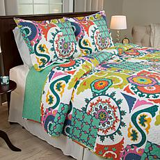 Lavish Home 2-piece Sybil Quilt Set - Twin